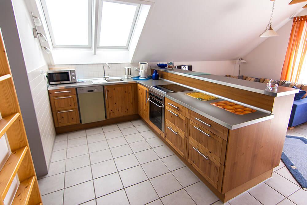Küche-Dachgeschoss